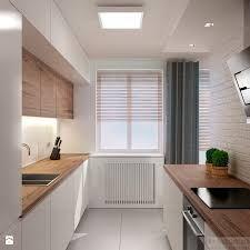 Resultado de imagen de mała nowoczesna kuchnia z oknem