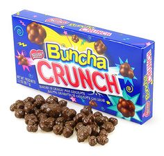 US Nestle Buncha Crunch, bite sized version of nestle crunch bar