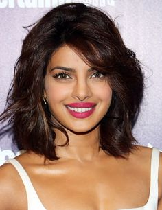 """Priyanka Chopra shares her favorite DIY beauty secrets: to brighten up a dull complexion, """"mix equal parts of yogurt and oatmeal to 2 tablespoons each) and turmeric to 2 teaspoons)."""" Leave on for 30 minutes, and then wash off with lukewarm water. Beauty Tips For Skin, Beauty Secrets, Diy Beauty, Beauty Hacks, Beauty Care, Bollywood Celebrities, Indian Beauty, Her Hair, Red Hair"""