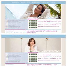 Nouveau design et changement d'adresse http://mariskah.france.free.fr