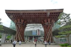 """Kanazawa station is ranked in top 10 of """"most beautiful stations in the world"""" - DeepJapan"""