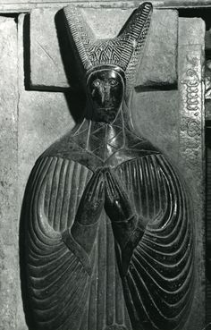St. Canice's Cathedral, Kilkenny, County Kilkenny - Tomb of Honorina Grace. Photo by Edwin Rae, 2008: http://hdl.handle.net/2262/25811. Probably dated to before 1596.