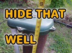 Nice video how to here on covering water well risers (well heads) with decorative fake rock enclosures.
