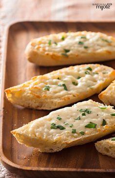 Pain au fromage, aux herbes et à l'ail #recette