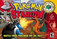 Unfortunately, I never had a memory card for my N64 so I could never complete the gym battles :/