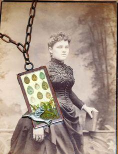 Bird Egg Necklace by RavensCrafts on Etsy, $16.00