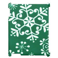 Snowflake Pattern iPad Savvy glossy for 2/3/4 Cover For The iPad