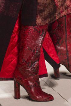 Laura Biagiotti at Milan Fashion Week Fall 2017 - Details Runway Photos