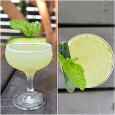 The Clare: Blanco tequila, chartreuse, lime juice, simple syrup, muddled cucumber and mint with pinch of salt.