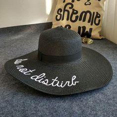 45dd307a4f046 Do Not Disturb Sun Hat. Summer Hats ...
