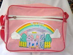 My Little Pony RARE Vintage 1985 Hasbro UK Bag