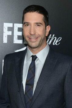 David Schwimmer at the AMC's Feed The Beast premiere in May 2016...