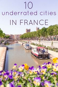A quick guide to the best things to do in Narbonne, Languedoc-Roussillon (Occitanie), South West France. Off the beaten tourist track French travel to a former Roman port city! Glasgow, Edinburgh, Best Vacation Destinations, Best Vacations, Europe Travel Tips, European Travel, Travel Guides, Paris France Travel, France Europe