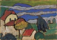 Kolb Haus by Gabriele Münter on artnet