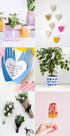 love gift DIYs for Valentine's Day | craft ideas | thoughtful gifts to make