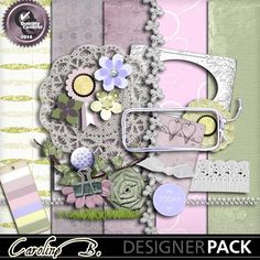 Flower And Lace Weddings Kit4  www.mymemories.com/store/display_product_page?id=CBDS-CP-1405-59275&r=carolineb  http://www.mymemories.com/store/designers/Caroline_B?r=carolineb