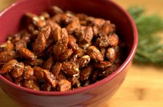Don't buy these at the mall they are way too expensive! Make them right at home and they are awesome! Try Traeger's Sweet 'n Spicy Smoked Nuts