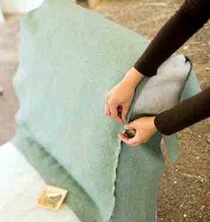 Подгонка ткани для пертяжки