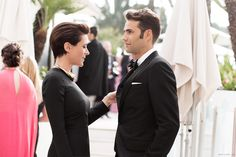 Garance Doré and her handsome man in Cannes