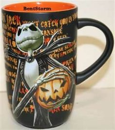 jack nightmare before christmas mug