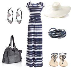Summer Beachy Day - love that dress