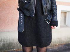 365 days with Ida Waist Skirt, High Waisted Skirt, Leather Skirt, Stockings, Skirts, How To Wear, Fashion, Socks, Moda