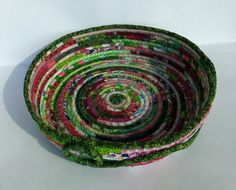 Coiled Easter bowl