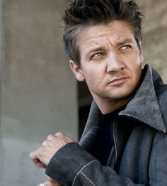 Jeremy Renner. He has a lovely singing voice:)