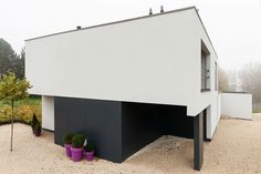 Sito architecten | moderne woning  in houtskelet
