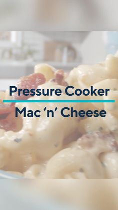 Few comfort foods compare to a classic dish of mac and cheese! This Half Homemade recipe for mac and cheese is made in a pressure cooker and cooks in just 6 minutes! This easy mac and cheese recipe is so flavorful, and using an Instant Pot or any pressure cooker, makes cooking this meal for a weeknight dinner a breeze! This delicious recipe also includes bacon and ranch seasoning for an extra punch of flavor.   #macandcheese #macaroniandcheese #pressurecookerrecipes #pressurecooker… Homemade Cheese, Homemade Recipe, Easy Mac And Cheese, Macaroni And Cheese, Mac Cheese Recipes, Ranch Seasoning, Instant Pot Dinner Recipes, Pasta, Pressure Cooker Recipes