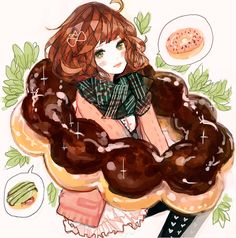 miss donut by eaphonia on DeviantArt