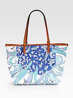 The Print. Emilio Pucci - Stampato Beach Bag