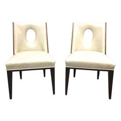 Allison Paladino Side Chairs - Set of 4 - $5,395 Est. Retail - $3,000 on Chairish.com