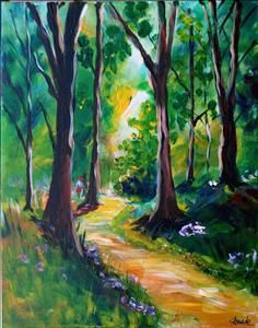 OPEN CLASS- In the Forest -must be 18 or older - Texarkana, TX Painting Class - Painting with a Twist