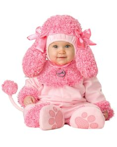 Cute little pink poodle :) - I just had to pin this!