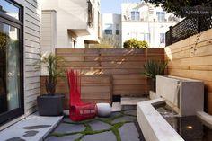 A little modern backyard