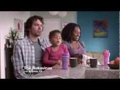 """this swifter ad is great.... This guy cleans the house!  oh yeah, and he's an amputee with a black wife and biracial daughter. it's like look at all the """"realness"""" we can show you in 60 seconds.... and i think it's terrific!"""