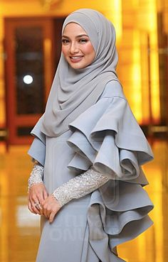 for this Tailer fit designer wear Muslim Dress, Hijab Dress, Hijab Outfit, Muslim Women Fashion, Islamic Fashion, Womens Fashion, Abaya Fashion, Modest Fashion, Fashion Dresses