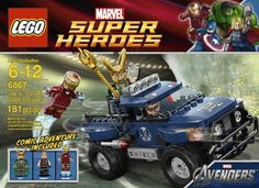 LEGO Loki's Cosmic Cube Escape 6867. Toys for 5 year old boys. And manufacturer recommended age: 5 to 12 years. Read more at http://www.toys-zone.com/lego-lokis-cosmic-cube-escape-6867/