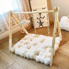 Baby Gym ¡para que no se aburran! Baby Bedroom, Baby Boy Rooms, Baby Boy Nurseries, Baby Room Decor, Nursery Room, Kids Bedroom, Baby Nursery Diy, Room Kids, Baby Cribs