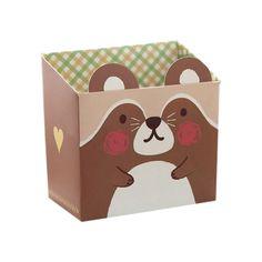 Best Cute Cat Cartoon Paper Stationery Makeup Cosmetic Desk Storage Box DIY(coffee) #Affiliate