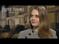 Paper Towns | Cara Delevingne & Nat Wolff Q&A | 20th Century FOX - YouTube