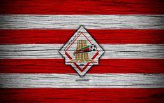 Indir duvar kağıdı Al Girne FC, 4k, logo, BAE Ligi, futbol, futbol kulübü, Birleşik Arap Emirlikleri, Dubai, Al, yaratıcı, ahşap doku, FC Dubai Al