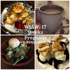 A Day of healthy and yummy eats at 17 weeks pregnant!