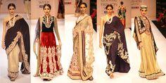 shaymal-and-bhumika-shodhan-lakme-fashion-week-winter-festive-2012-collections-black-brocade-gold-saree-salwar-suit-embellishments-pearls-fall-2012-trends-indian-runway-design.jpg (753×377)