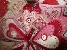 Kindred Quilts. This has the cute wreath in it i want to make sometime...Save for Christmas
