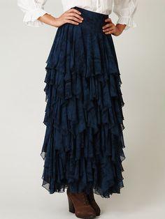 Summer Layers Skirt - I would soooo wear this!
