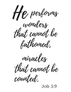 He performs wonders...Get the free printable PDF file here and print this design.