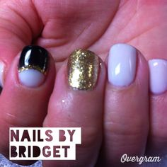 Black white and gold stones