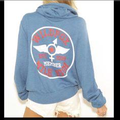 NWT Wildfox Mile High Club Hoodie Nwt and still in the bag Mile Hugh Club hoodie. Size small in the blue shade. Wildfox Tops